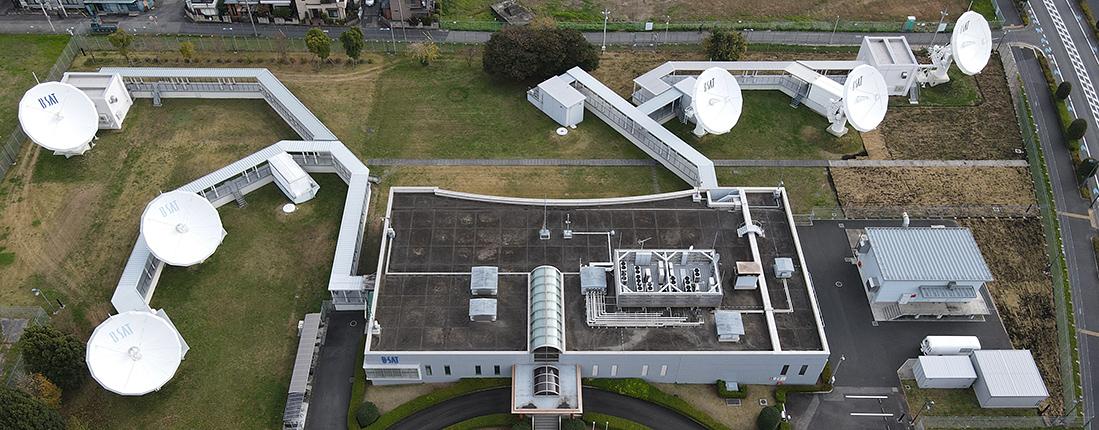 川口衛星管制センター(主局)