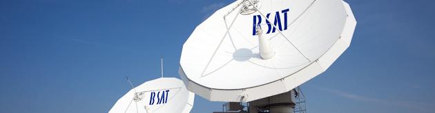 放送衛星をコントロール(衛星管制センター)