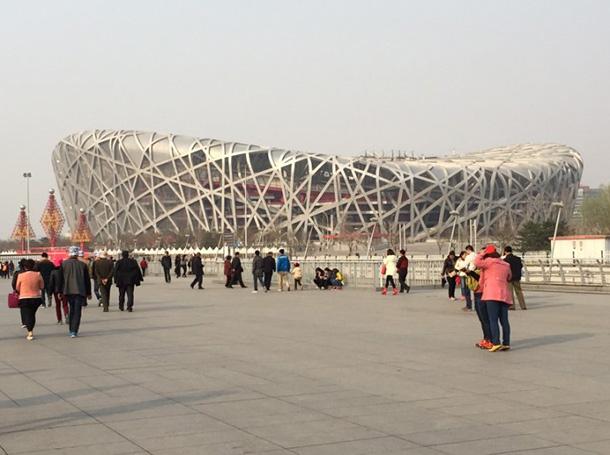 言わずと知れた2008年北京オリンピック会場『鳥の巣』