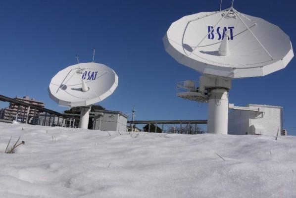雪とアンテナ